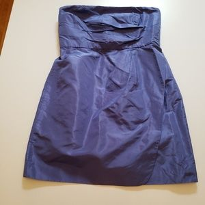 J. Crew Dresses - J Crew Selma dress Dark Pacific Blue size 12